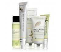 Комплект с омолаживающим увлажнителем, 5 продуктов - Essential Skin Care System With Anti-Aging Moisturizer