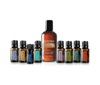 Комплект смесей и чистых эфирных масел для ароматерапевтического массажа