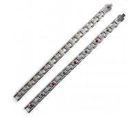 Титановый браслет ProTEQ4 Alfa,  мужской  23см. / Магнитные браслеты