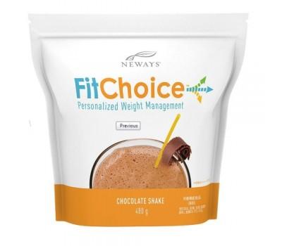 FitChoice™ Shake Choc - протеиновый коктейль шоколадный