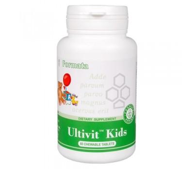 Ultivit Kids - жевательные витамины для детей
